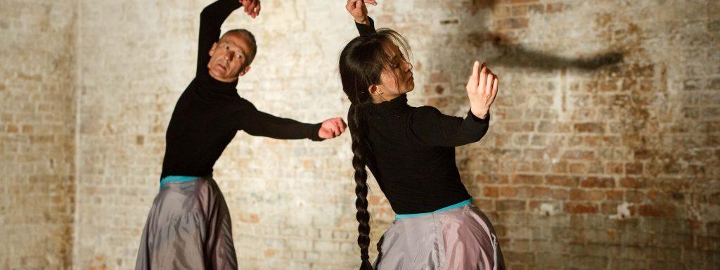 11.05.2014; Berlin; Tanzcompagnie Rubato / Two Figures in a Landscape und Happiness / Xing Fu / Doppelprogramm / Ort: DOCK11/ Tanz: Li Ling Xi, Dieter Baumann