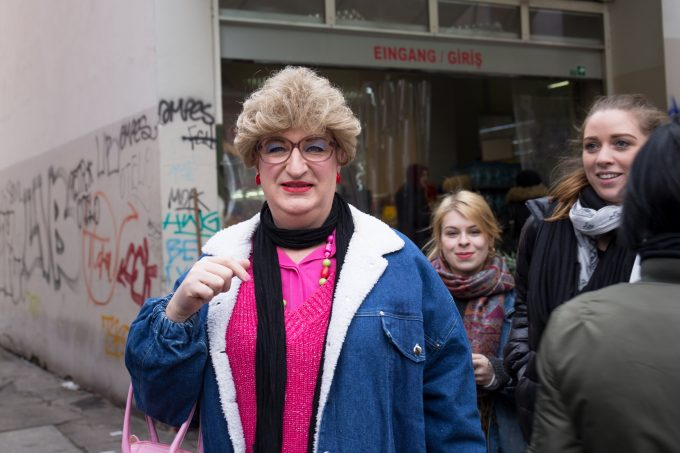Kiezspaziergang mit Edith Schršder in Neukšlln