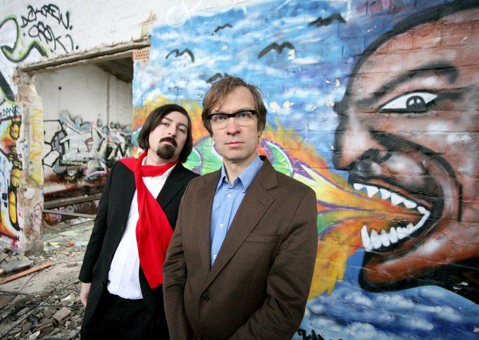 Die Theaterdiscounter- Mitgründer und  Regisseure  Patrick Wengenroth (li.) und Georg Scharegg – Foto: Jörg Lipskoch/I SHOT