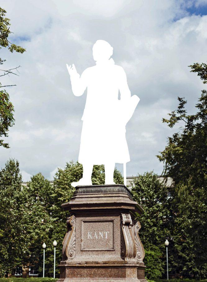 Immanuel Kant, Vater der Aufklärung, zugleich Verfasser von rassistischen TextenFoto: imago / imagebroker