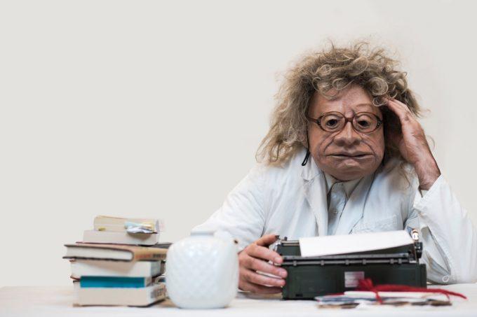 Ärzte und Patienten - und ein Klinikchef im neuen Stück der Familie Flöz – Foto: Familie Floez
