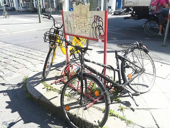 Für Gelegensheitsradler sind Leihräder sicherlich eine bessere Option, als das eigene Fahrrad über einen längeren Zeitraum auf offener Strasse abzustellenFoto: Oliver Mezger