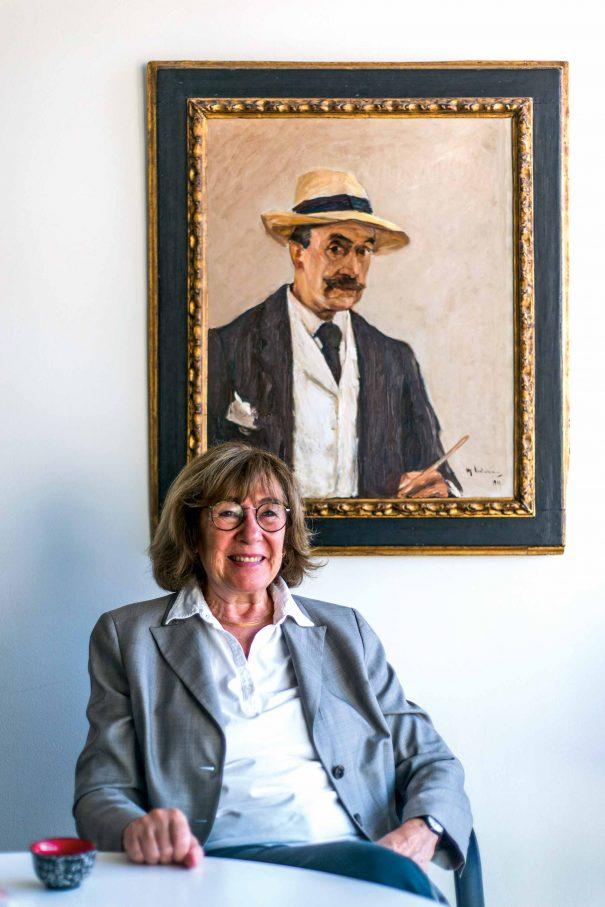 Jeanine Meerapfel in ihrem BüroFoto: F. Anthea Schaap