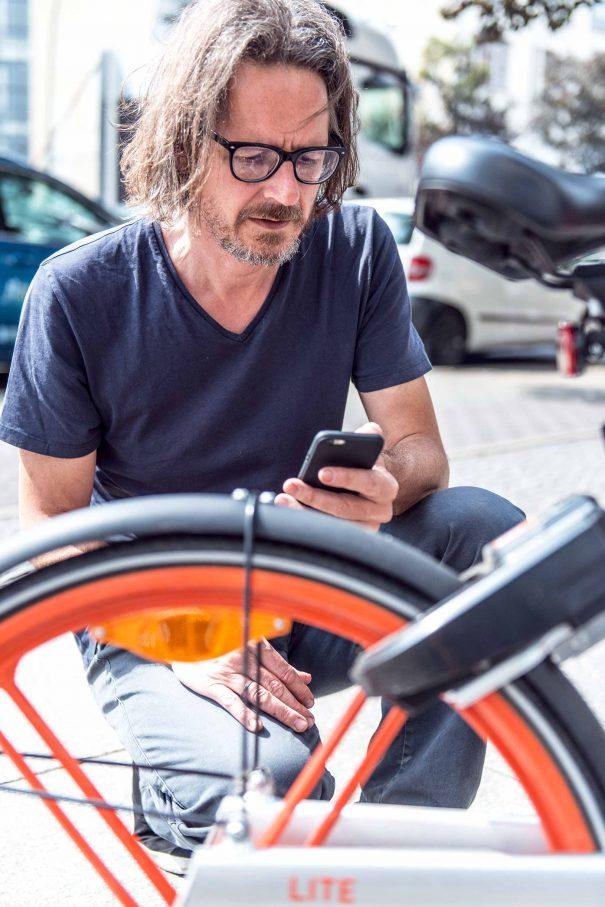 Mobike sind optimal für kurzbeinige RadfahrerFoto: F. Anthea Schaap