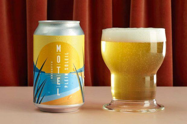 Bier in Dose und in einem Glas, yeah!