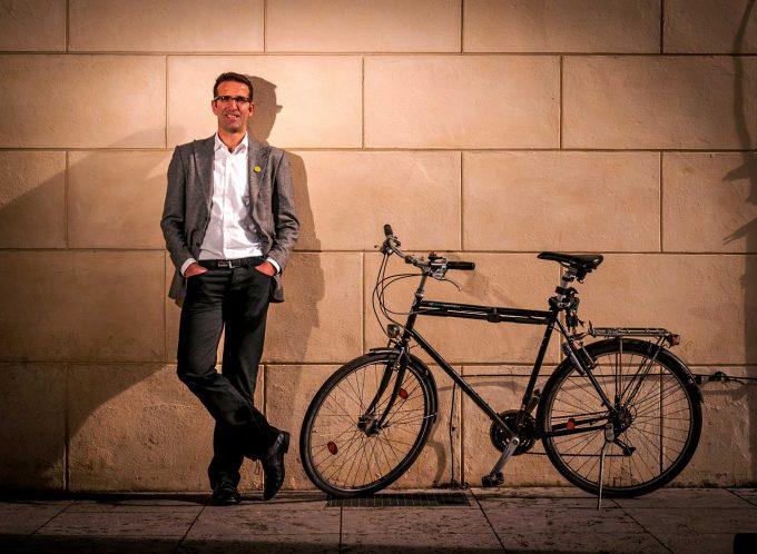 Heinrich Strößenreuther Foto: Volksentscheid Fahrrad/Norbert Michalke