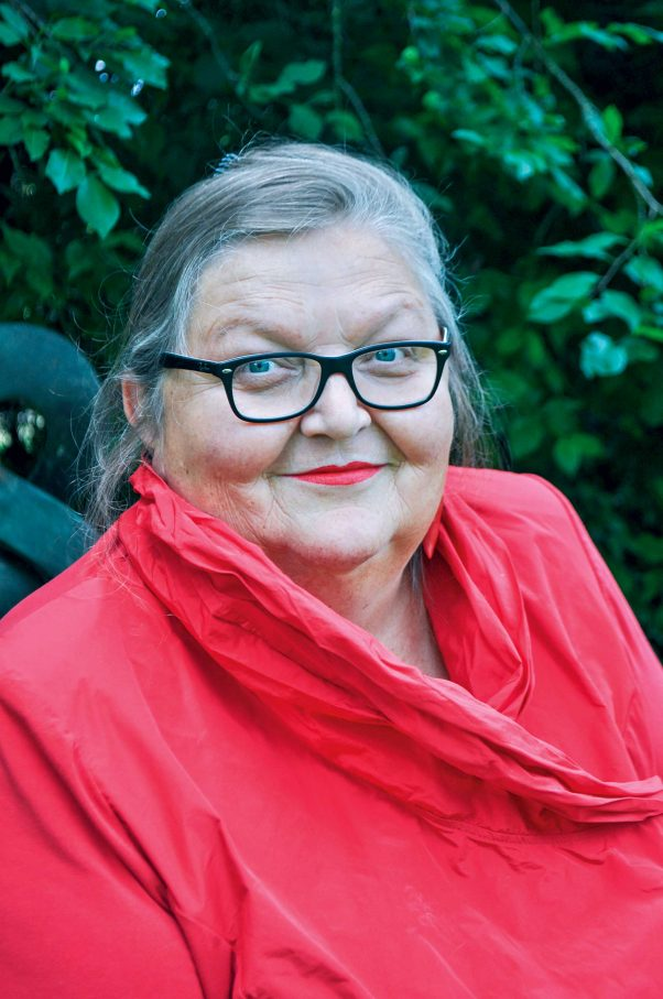 Lucie Veith, 62, intersexuell, ist Menschenrechtsexpert_inFoto: Privat