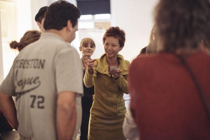 Regisseurin Chang Nai Wen beim Zuschauergespräch - Foto: Performing Arts Programm Berlin
