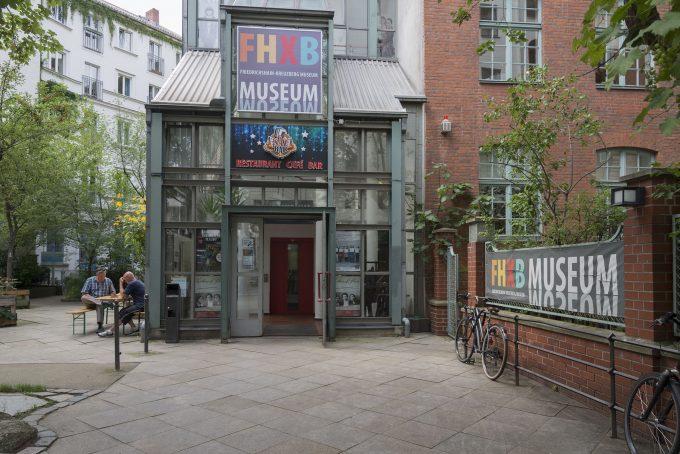 Pforte zum Museum FHXB-Museum am Kottbusser Tor © Ellen Röhner/ FHXB Museum