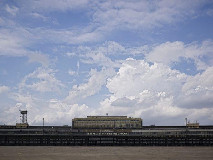 Gemeinsamer Messestandort von Art Berlin und Positions Berlin: der Flughafen Tempelhof © Flughafen Tempelhof Berlin