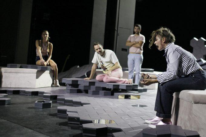 #MeToo: Riah May Knight, Lindy Larsson, Taner Şahintürk und Svenja Liesau (v.l.n.r.) – Foto: Ute Langkafel