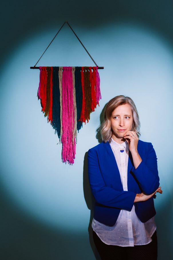 Laura Veirs portrait for her 2018 album
