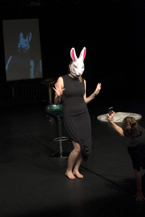 Zum Zenit: Iduna Hegen, Melissa A. Schmidt – Foto: Kerstin Reichelt