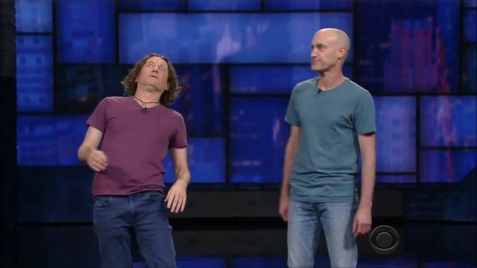 Irre komisch: David Collins, Shane Dundas – Foto: The Umbilical Brothers