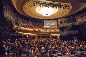 Bei der Eröffnung des Interfilm-Festivals