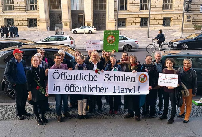 Volksinitiative unsere SchuleFoto: Gemeingut in BuergerInnenhand