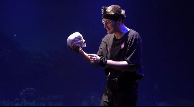 Wedding-Poser: Robert F. Martin als Hamlet – Foto: Prime Time Theater