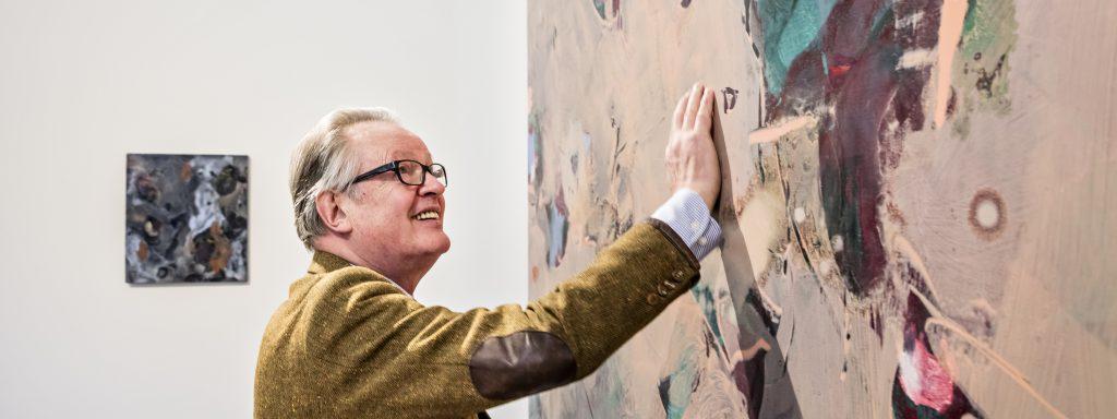 Bernd Koberling in der Galerie Kewenig © Stephanie von Becker Bernd Koberling: Malerei 2003 - 2018 KEWENIG GALERIE