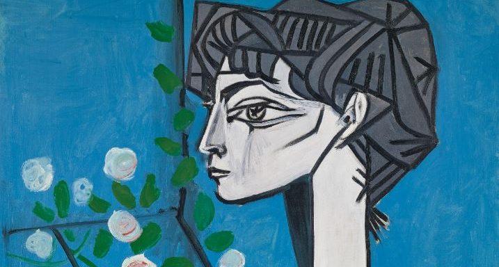 Pablo Picasso: Madame Z (Jacqueline mit Blumen), 1954 Sammlung Catherine Hutin, © Succession Picasso/VG Bild-Kunst, Bonn 2019, Photo: © Claude Germain