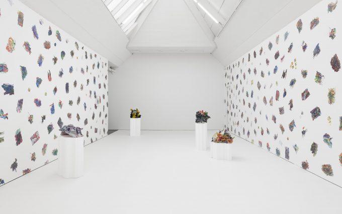 Ansicht der Installation in der Galerie Carlier|Gebauer, 2019, ©Trevor Good