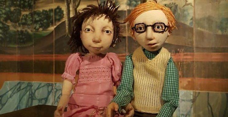 Puppenstück über mutige Mädchen und ängstliche Jungs vom Theater Anna Rampe- Foto: Theater Zitadelle/Anna Rampe