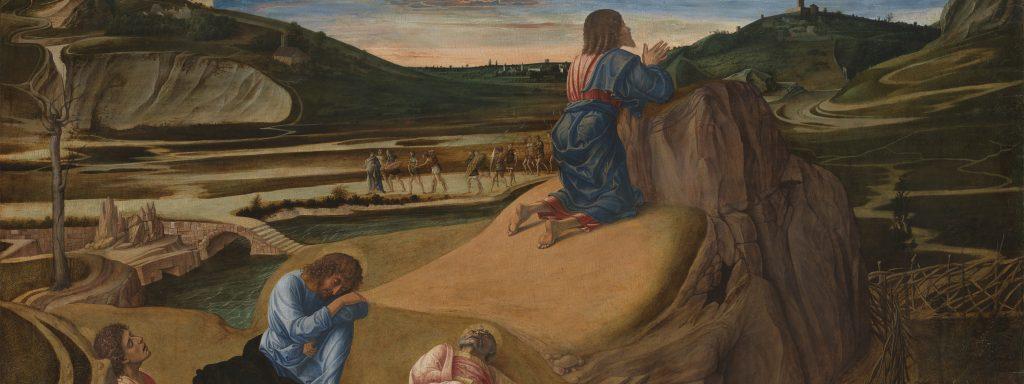 "Giovanni Bellini: ""Christus am Ölberg"", um 1465 Holz, 81,3 x 127 cm, erworben 1863 © The National Gallery, London"