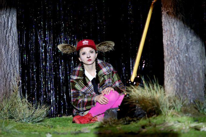 Waldtiere: Kinga Schmidt als Bambis Freundin - Foto: Christian Brachwitz