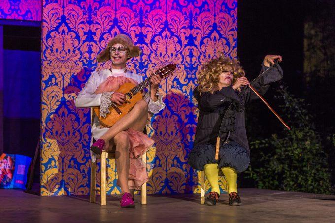 Macht Spaß: Shakespeare im Natur-Biotop – Foto: Axel Lauer