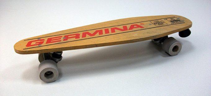 Skateborad Germina, 1987, anlässlich der 750-Jahr-Feier ©Stiftung Stadtmuseum Berlin