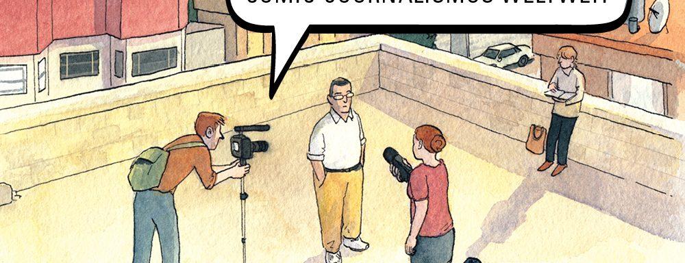 Zeich(n)en der Zeit. Comic-Journalismus weltweit