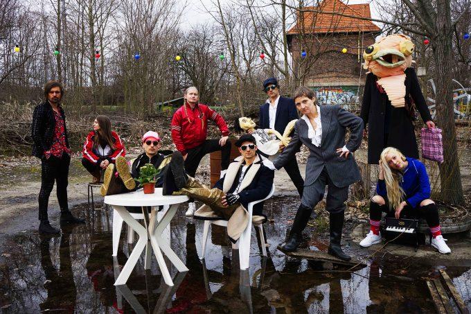 """Rapper, Performer und schräge Figuren: das """"Tannhäuser""""-Line-up – Foto: Ralf Stiebing"""