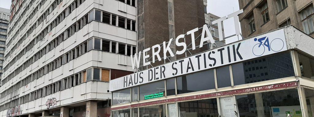 Haus der Statistik, Berlin Art Week 2019 ©cwa