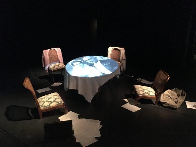 Familienaufstellung: Vielsagendes Bühnenbild – Foto: Produktion