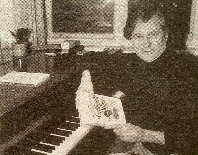 Ulrich Roski 1996 in seinem Neuköllner Arbeitszimmer – Foto: Mehmet Dedeoglu