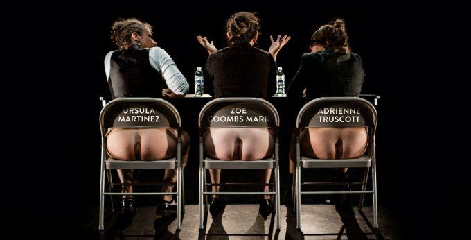 "Schamlose Komik: Ursula Martinez, Zoë Combs Marr und Adrienne Truscott in ""Wild Bore"" – Foto: Maria Baranova"