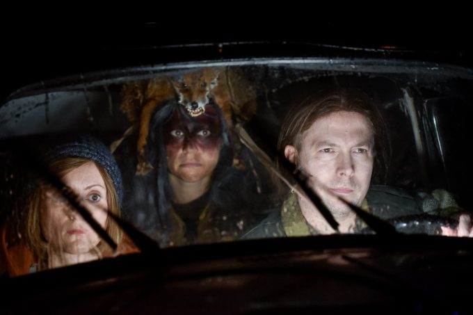 Täter/Opfer: Veronika Bachfischer, Ruth Rosenfeld, David Ruland – Foto: Arno Declair