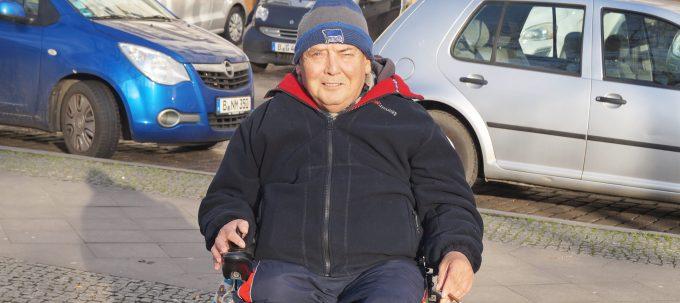 Obdachloser Klaus