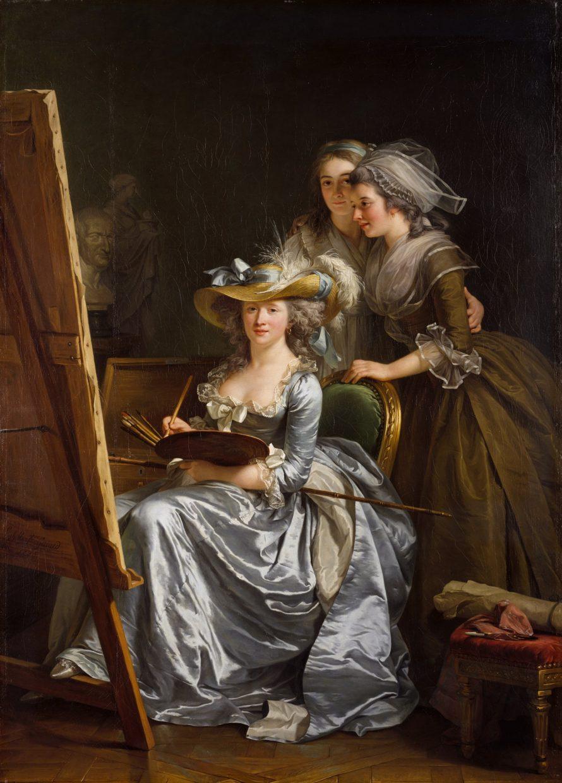 Adélaïde Labille-Guiard (1785) / Metropolitan Museum of Art / Wikimedia Commons / gemeinfrei