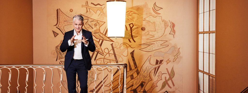 In dritter Generation Intendant der Komödie am Kurfürstendamm, derzeit im Schillertheater: Martin Woelffer, 55 – Foto: Michael Petersohn