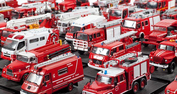Sammlung Feuerwehrwagen © Olbricht Collection, Photo Jana Ebert
