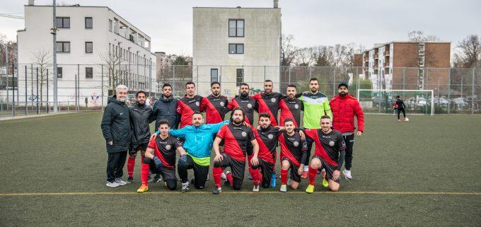 Das Gesammte Team des FC Kerame