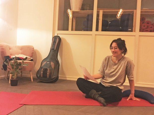 Unsere Autorin hat Singing Meditation ausprobiert. Foto: Nina Sabo