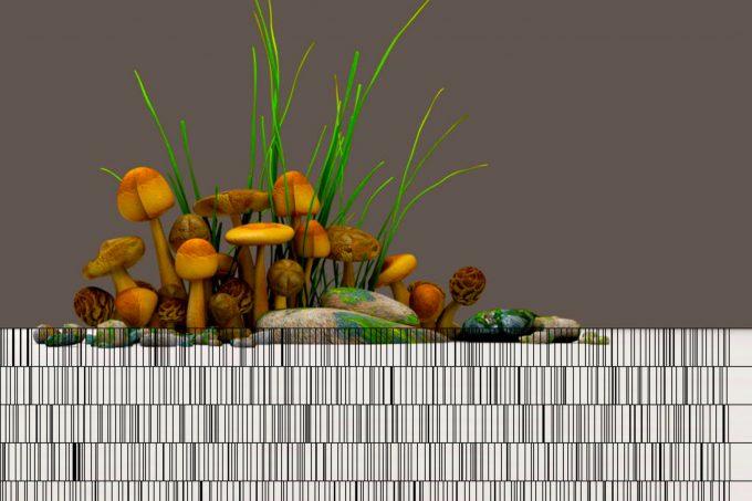 "Die Datenklau-Performance ""Garden of Tangled Data"" führt in ein High-Tech-Ökosystem – Foto: doublelucky productions"