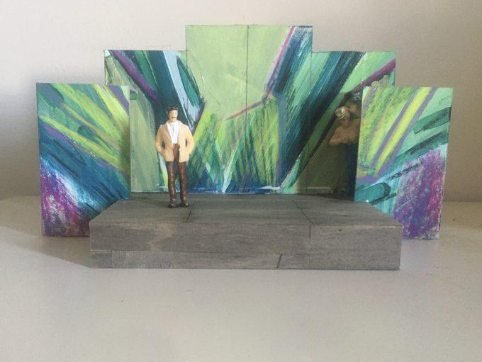 Modells der Bühne des Hof-Theaters von der Bühnenbildnerin Johanna Meyer - Foto: Johanna Meyer