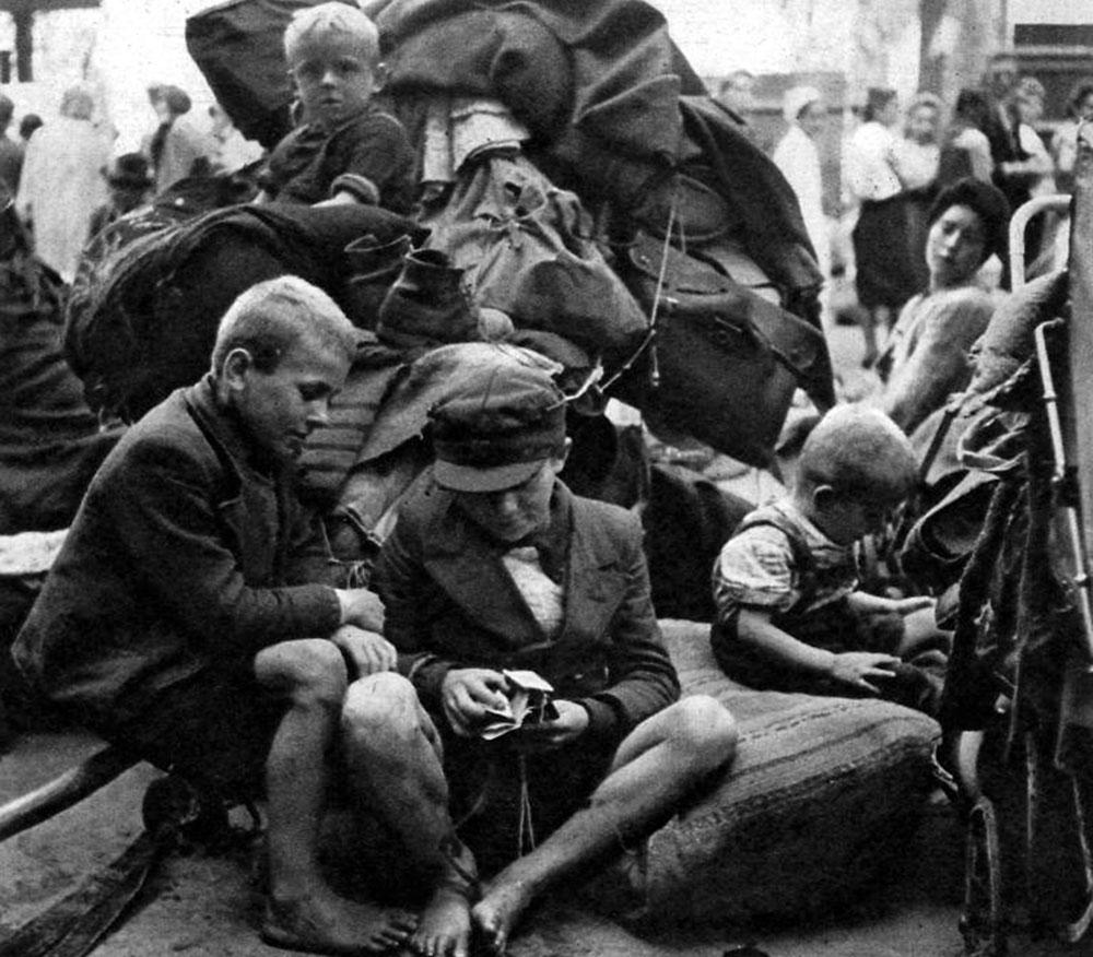 Flüchtlinge am Lehrter Bahnhof